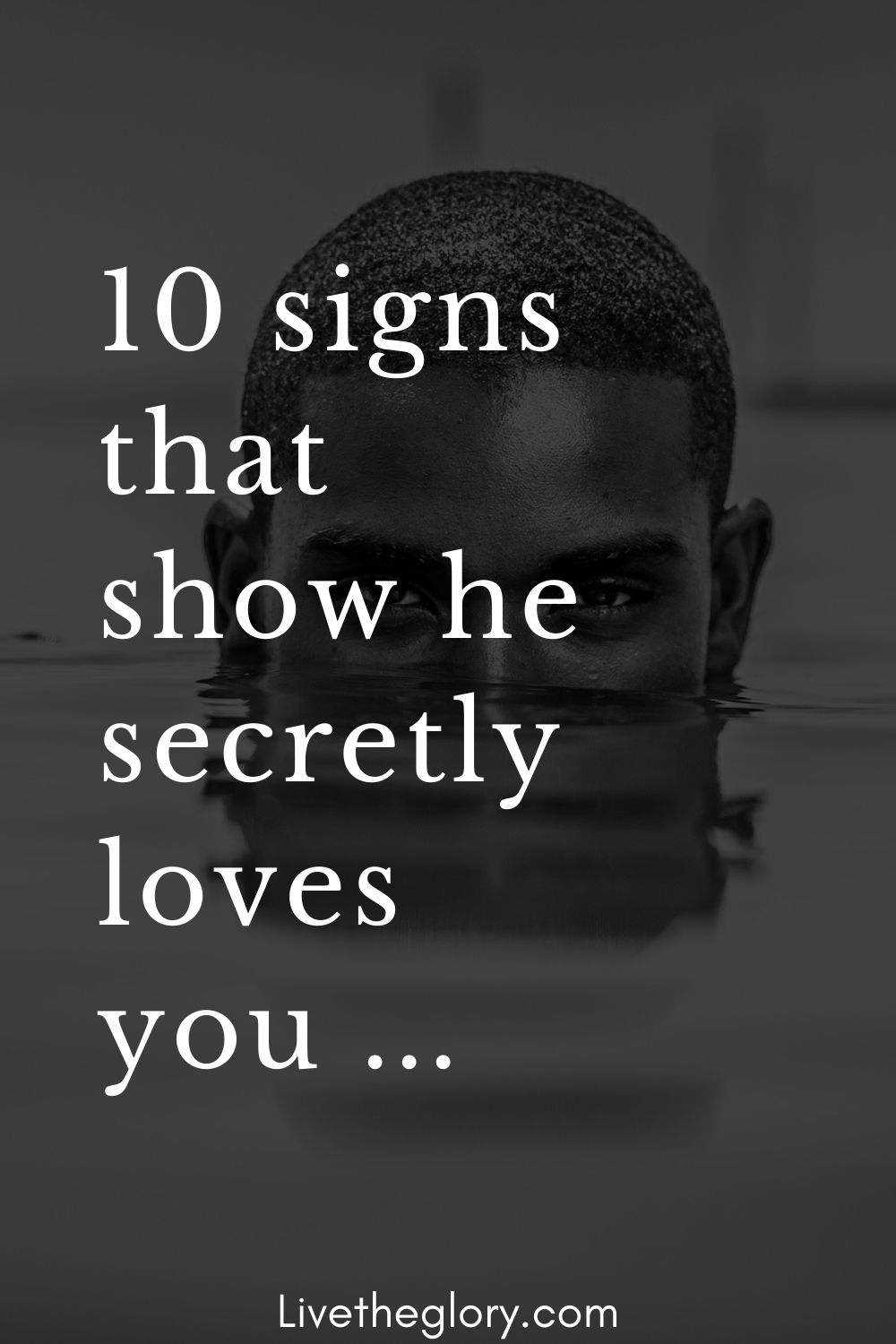 Signs a man is in love with you secretly